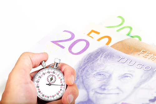 Bild som illustrerar hur man snabbt sparar pengar